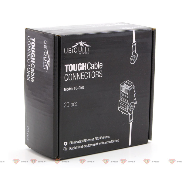 Ubiquiti TOUGHCable Connectors Grounded 20 шт.