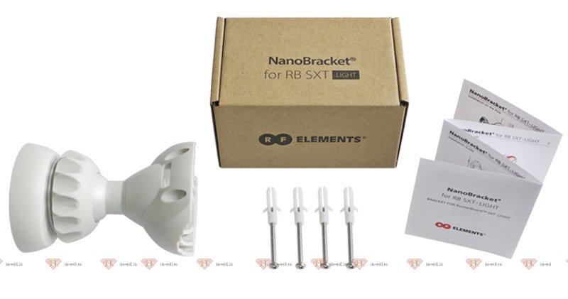 RF elements NanoBracket SXT Light