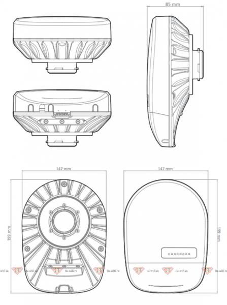 RF elements TwistPort Adaptor for RouterBoard (RB)